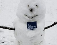 Weather Channel Reporter Calls Snowman a 'Snowperson,' Immediately Regrets It.