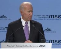 Joe Biden Says Despicable Things About America While Speaking In Europe