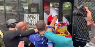 Antifa Attacks Proud Boys On Buses In Portland & Others In Street
