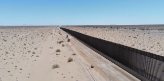 Border Patrol Releases Drone Footage Showing Miles Of 'New Wall System'