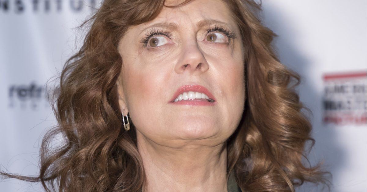 Susan Sarandon Comes Out Swinging Against Elizabeth Warren