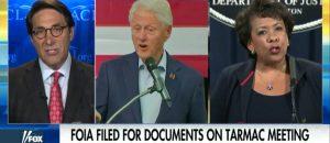 FBI Looking into Clinton-Lynch Tarmac Meeting