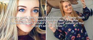 TSA Nabs Dangerous Terrorist