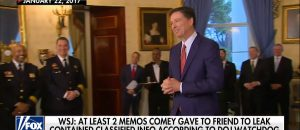 Comey's Memos Under Investigation by DOJ IG