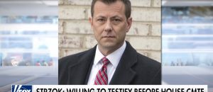 Strzok To Testify Before Congress but NOT Why You Think