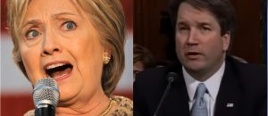 Hillary Attacks Kavanaugh Because He Upholds the Constitution